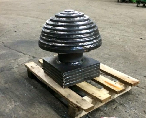 Wrecking ball fabrication