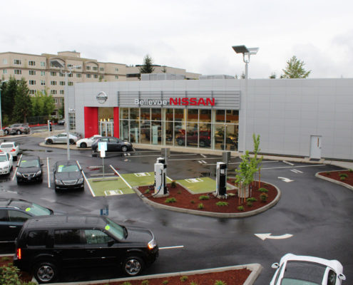 Bellevue Nissan Dealership