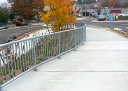 Welding Fabrication of Wharf St railing on in Bellingham