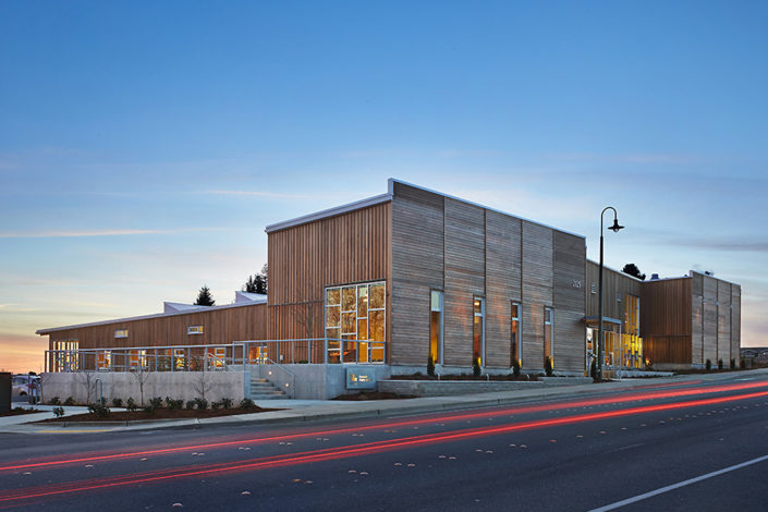 Structural Steel Fabrication - Ferndale Library