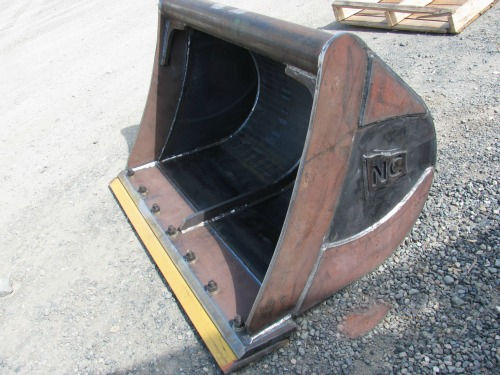 Heavy equipment bucket attachments