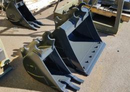 Mini-excavator bucket fabrication