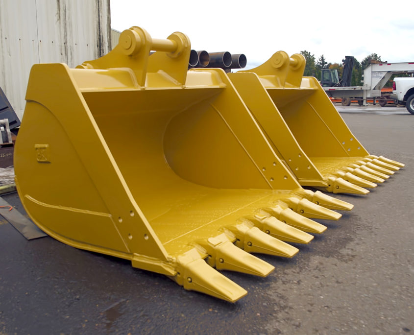Bucket & attachment repair and fabrication