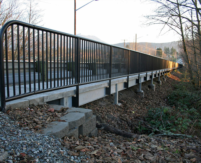 Commercial handrail SR 9 Pedestrian Improvement