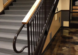Commercial Handrail - Meridian Elementary